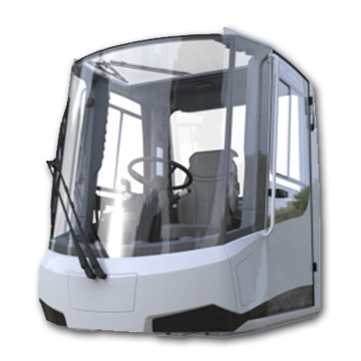 Escar products - Fully equipped drive cabin
